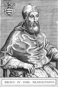 Le pape Paul IV