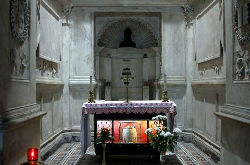 Reliques de St Januarius - Cappella del Succorpo - Cathedral - Naples - Italy 2015