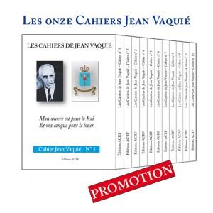 Les Onze Cahiers Jean Vaquié