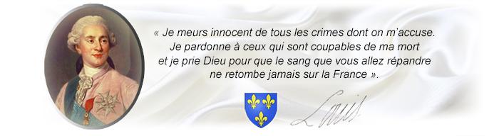 Le 21 janvier à la Mémoire du Roi Martyr
