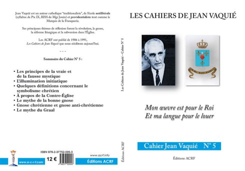 Cahier Jean Vaquié N°5