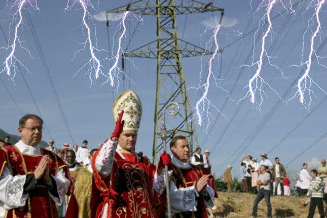 Mge Fellay électrifie Écône...