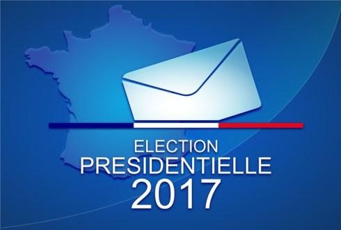 L'élection presidentielle francaise du 23 avril et 7 mai 2017