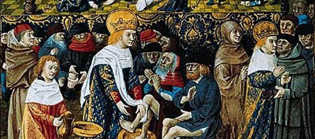Le dernier <i>Jeudi Saint</i> de la Monarchie Très Chrétienne