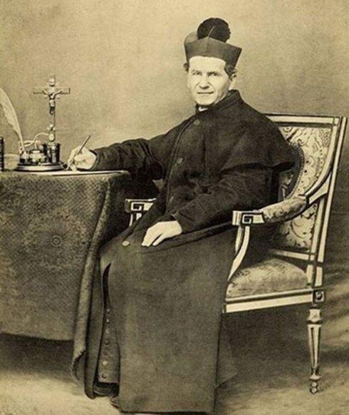 Jean Bosco Melchior Occhiena mieux connu sous le nom de Don Bosco (en italien Giovanni Melchiorre Bosco)