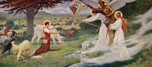 Ce dimanche 14 Mai : En France : <b>Solennité de Sainte Jeanne d'Arc</b>