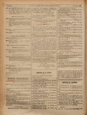 Journal officiel de la Ripoublique Française 1920