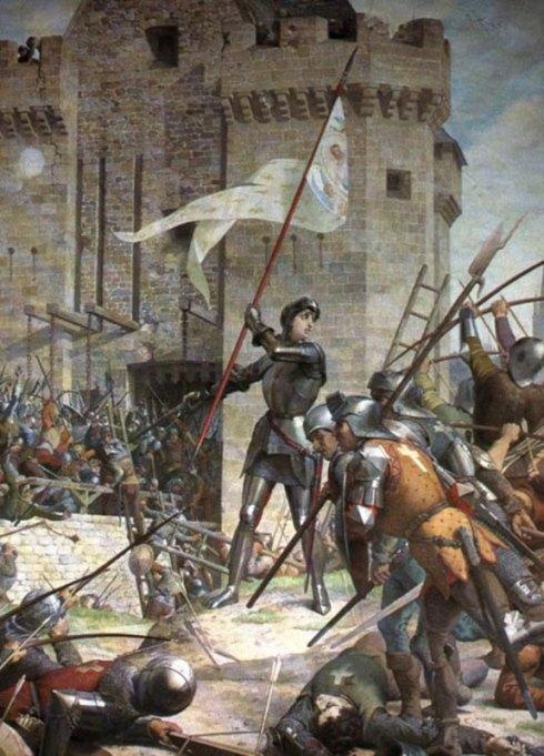 Jeanne d'Arc délivre Orléans