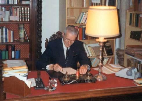 Jean Vaquié au travail