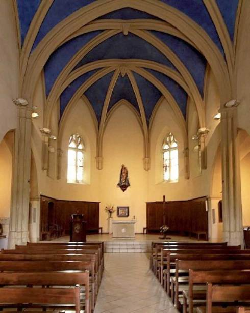 L'intérieur du Sanctuaire