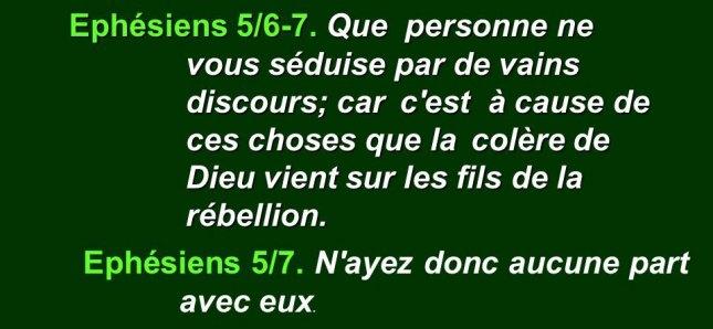 Lettre de Saint Paul aux Éphesiens - chap 5