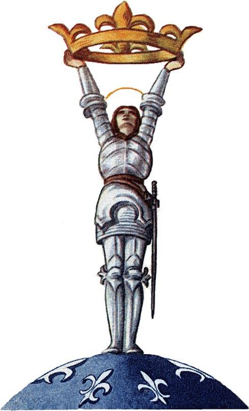 Jeanne d'Arc, Sauvez la France !