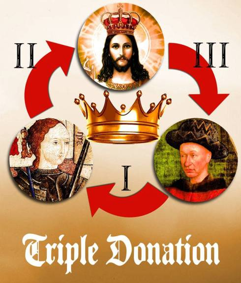 21 juin 1429 : la triple donation du Royaume de France