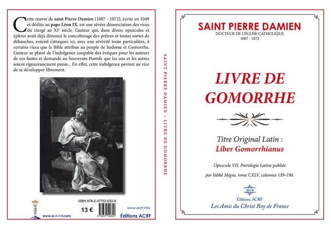 Saint Pierre DAMIEN, Le Livre de Gomorrhe