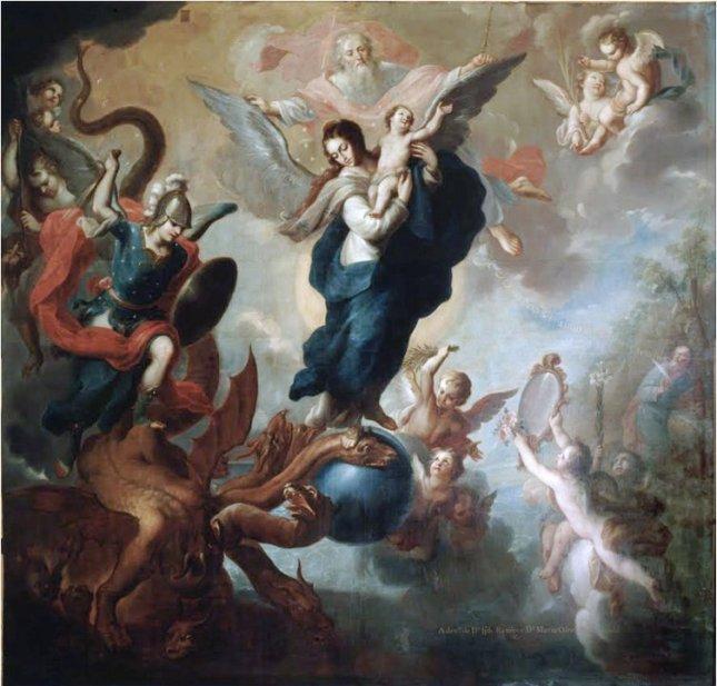 Ô Marie conçue sans péché priez pour nous qui avons recours à vous !