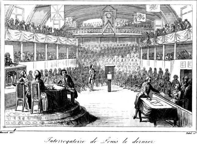 L'interrogatoire de « Louis le dernier » par la Convention.