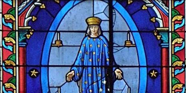 La Sainte Vierge Marie à Pontmain