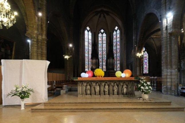 La table pour la synaxe du sanctuaire