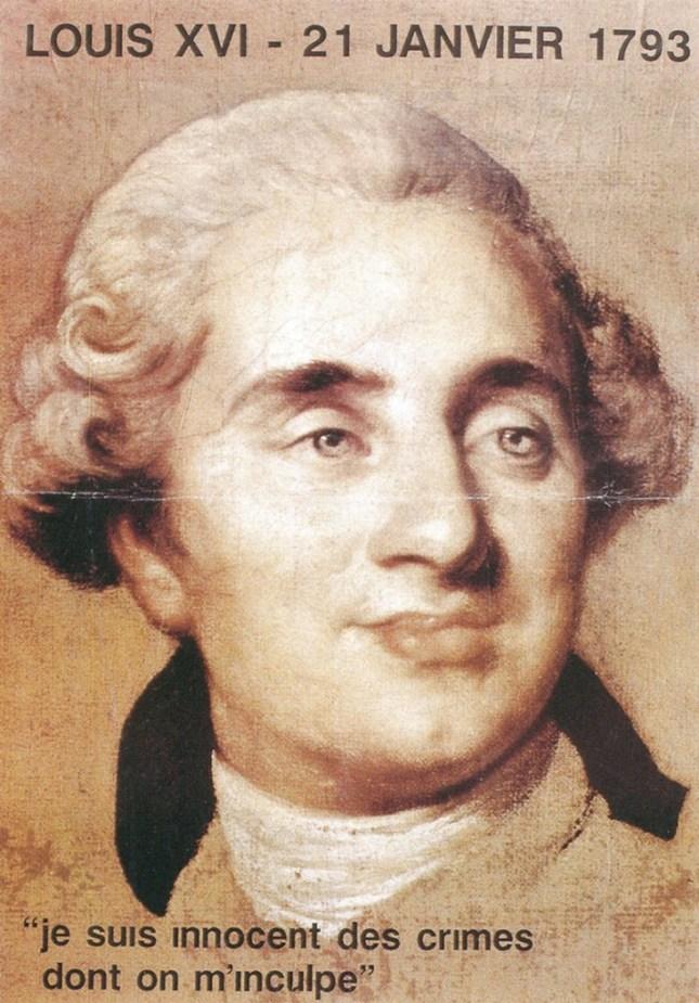 LOUIS XVI, dit « Louis le dernier »