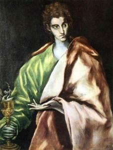 Saint Jean, par Le Greco.