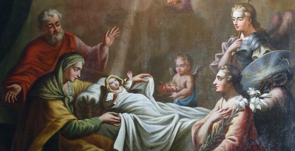 La naissance de la Bienheureuse Vierge Marie