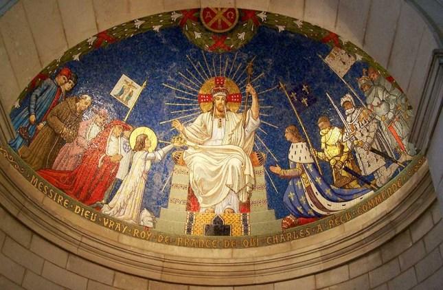 Le Christ Roi de France