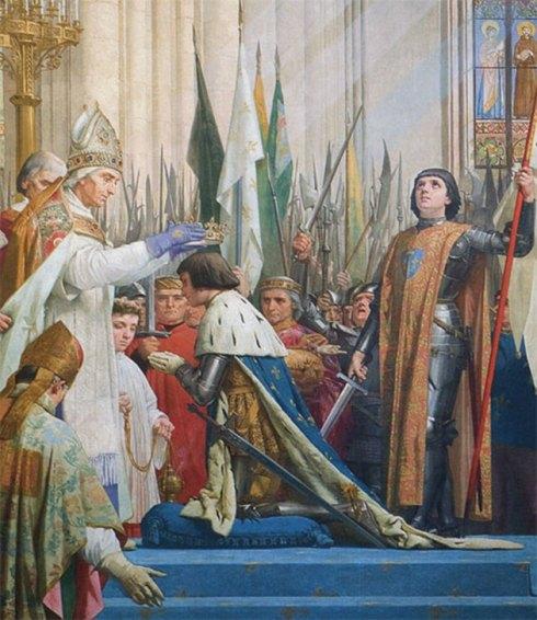 Le sacre de Charles VII