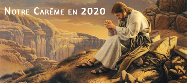 Notre Carême 2020