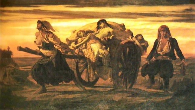 La peste d'Elliant, Louis Duveau 1849