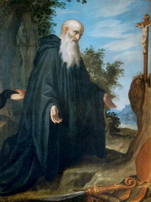 Saint Benoît, abbé