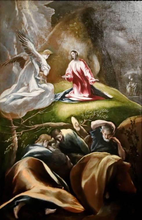Le Christ dans le jardin des oliviers