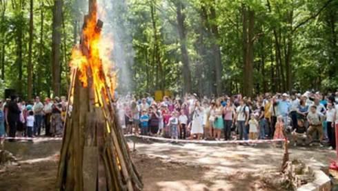 Les feux de joie sont une tradition de Lag BaOmer