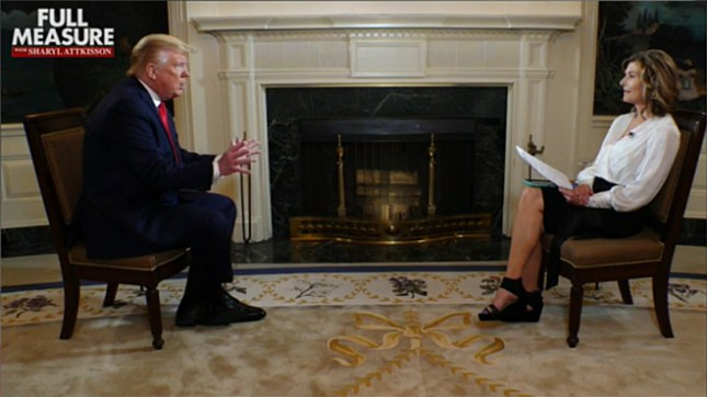 Trump et Sharyl Attkisson