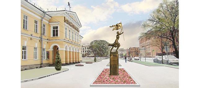 Sainte Jeanne d'Arc à Saint Pétersbourg