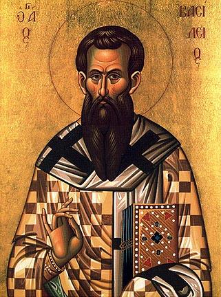 Icône de saint Basile de Césarée