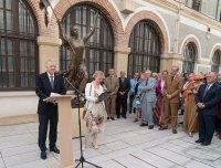 Présentation devant l'ambassadeur de Russie Alexeï Mechkov