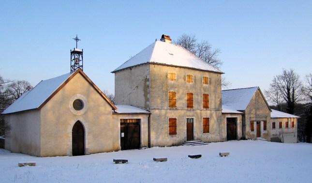 La chapelle et l'ermitage Notre-Dame de Bermont