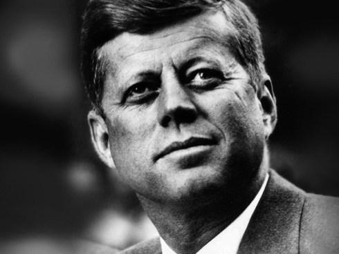 Président John Fitzgerald Kennedy