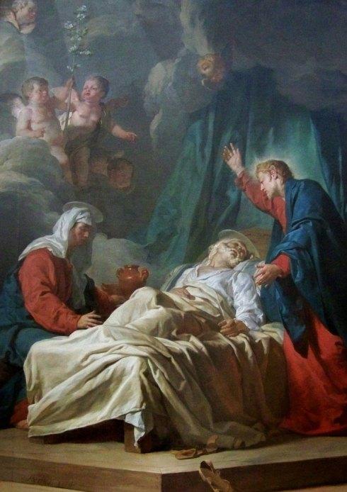 Saint Joseph agonisant