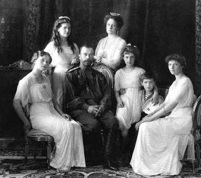 La famille impériale russe Romanov