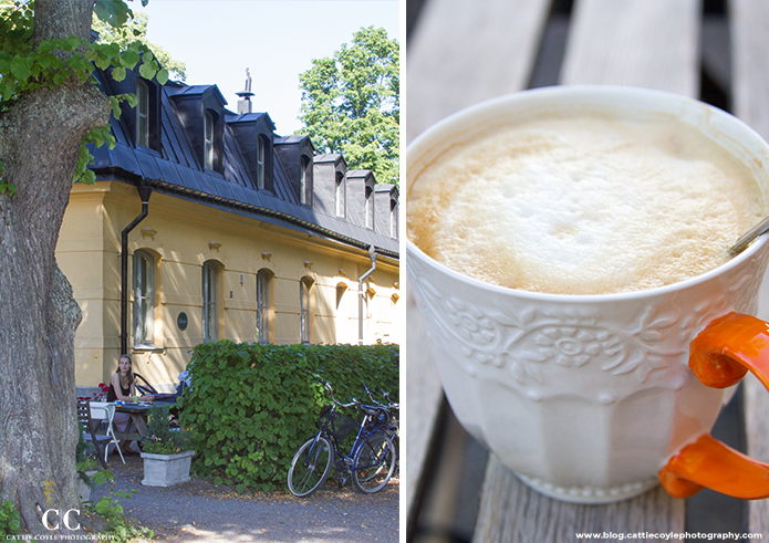 Ulriksdal Palace cafe by Cattie Coyle Photography