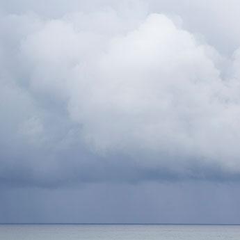 Summer Storm No 3 - Large storm cloud art by Cattie Coyle Photography