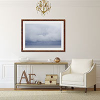 Summer Storm No 4 - Oversized storm clouds wall art by Cattie Coyle Photography