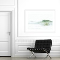 Ocean Waves No 5 - Large scale ocean art print by Cattie Coyle Photography