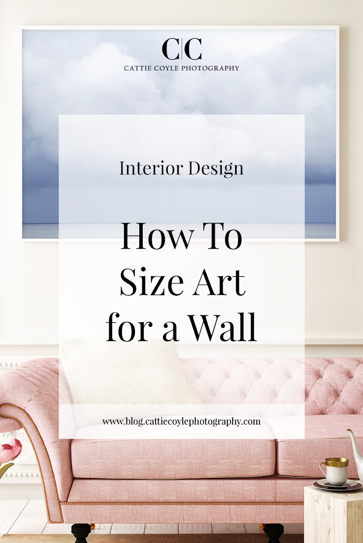 How to figure out what art size you need on a wall, above a sofa, and over a fireplace (plus my thoughts on art sizes and how I like to display art).