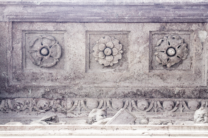 Travel Photography: Architectural Detail No1-Large art print by Cattie Coyle Photography