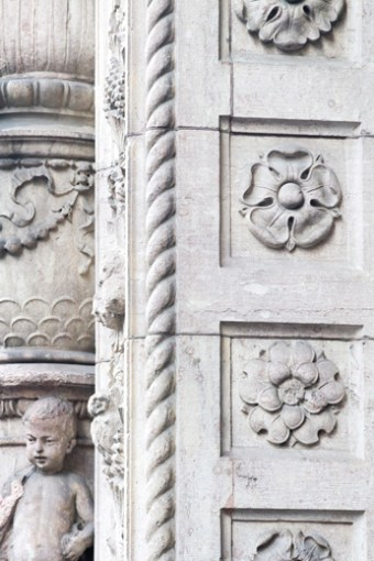 Travel Photography: Architectural Detail No 3 - Extra large art print by Cattie Coyle Photography