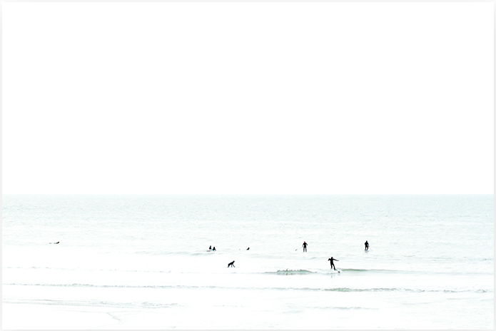 Waiting No 3 - Surfing Photography Wall Art by Cattie Coyle Photography