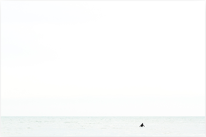 Waiting No 6 - Surfer Photography Art Print by Cattie Coyle Photography