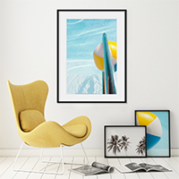 Swimming Pool No. 1 - Turquoise water art print by Cattie Coyle Photography